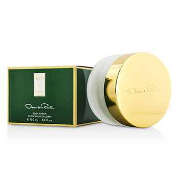 Oscar De La Renta Live In Love Body Cream
