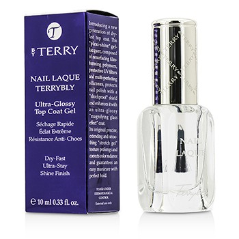 By Terry Nail Laque Terrybly Ultra Glossy Top Coat Gel - # 500