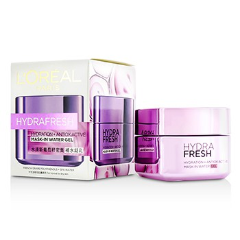 L'Oreal Hydrafresh Hydration+ Antiox Active Mask-In Water Gel