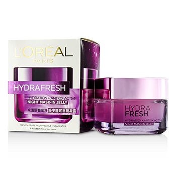 L'Oreal Hydrafresh Hydration+ Antiox Active Mask-In Jelly