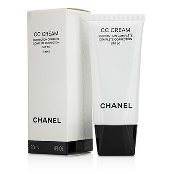 Chanel CC Cream Complete Correction SPF 50/PA++++ # 40 Beige