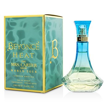 Beyonce Heat The Mrs. Carter Show World Tour Eau De Parfum Spray (Limited Edition)