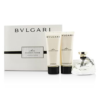 Bvlgari Mon Jasmin Noir Coffret: Eau De Parfum Spray 75ml/2.5oz + Bath & Shower Gel 100ml/3.4oz + Body Lotion 100ml/3.4oz