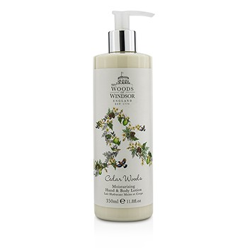 Woods Of Windsor Cedar Woods Moisturizing Hand & Body Lotion
