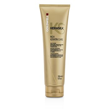 Goldwell Kerasilk Rich Keratin Care Daily Mask - Smoothing Transformation (For Unmanageable and Damaged Hair)