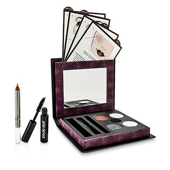 Paula Dorf Smokey Eye Collection (3x Eye Shadow, 1x Eye Liner, 1x Lip & Cheek Stain, 1x Mascara, 1x Enhancer Pencil, 1x Applicator)