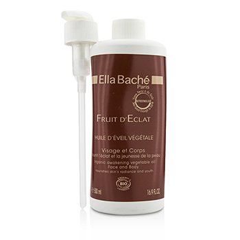 Ella Bache Fruit D'Eclat Organic Awakening Vegetable Oil  for Face & Body (Salon Product)