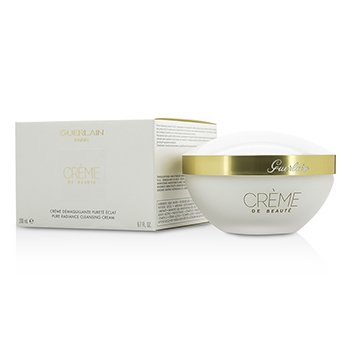Guerlain Pure Radiance Cleansing Cream - Creme De Beaute
