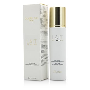 Guerlain Pure Radiance Cleanser - Lait De Beaute Gentle Cleansing Satin Milk