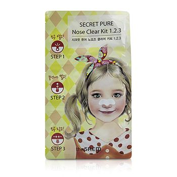 The Saem Secret Pure Nose Clear Kit 1.2.3