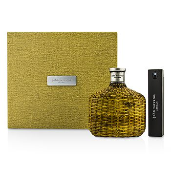 John Varvatos Artisan Coffret: Eau De Toilette Spray 125ml/4.2oz + Eau De Toilette Travel Spray 17ml/0.57oz