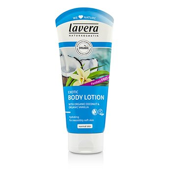 Lavera Organic Coconut & Vanilla Exotic Body Lotion