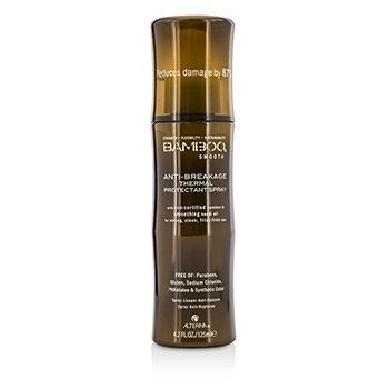 Alterna Bamboo Smooth Anti-Breakage Thermal Protectant Spray (For Strong, Sleek, Frizz-Free Hair)