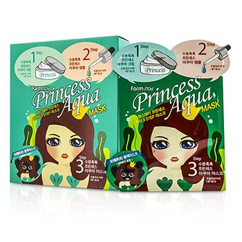 Farm Stay Princess 3-Steps Mask -  Aqua