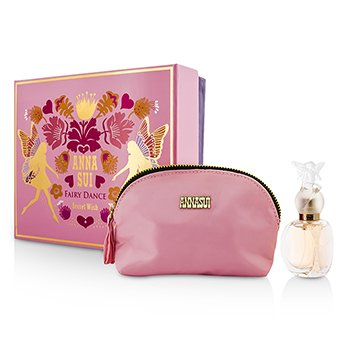 Anna Sui Secret Wish Fairy Dance Coffret: Eau De Toilette Spray 30ml/1oz + Cosmetic Pouch