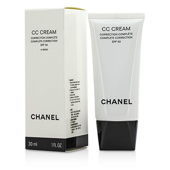 Chanel CC Cream Complete Correction SPF 50 / PA++++ # 10 Beige