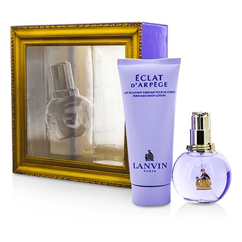 Lanvin Eclat D'Arpege Coffret: Eau De Parfum Spray 50ml/1.7oz + Body Lotion 100ml/3.3oz