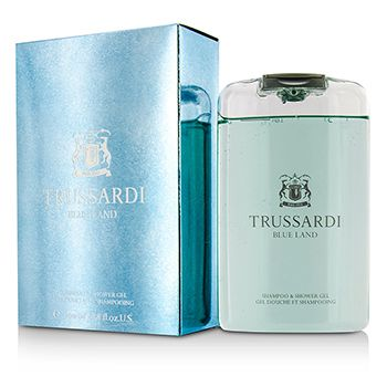 Trussardi Blue Land Shampoo & Shower Gel