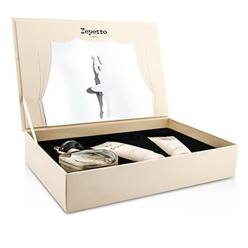 Repetto Repetto Coffret: Eau De Toilette Spray 80ml/2.6oz + Body Lotion 100ml/3.3oz + Shower Gel 100ml/3.3oz
