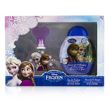 Air Val International Disney Frozen Coffret: Eau De Toilette Spray 100ml/3.4oz + Shower Gel & Shampoo 300ml/10.2oz