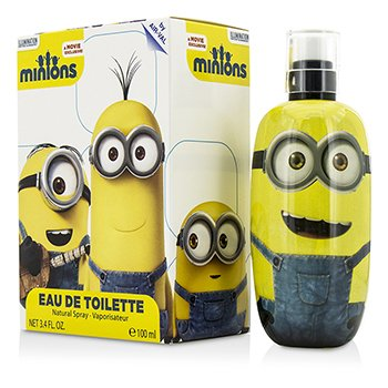 Air Val International Minions Eau De Toilette Spray