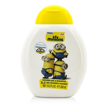 Air Val International Minions 2 In 1 Shower Gel & Shampoo