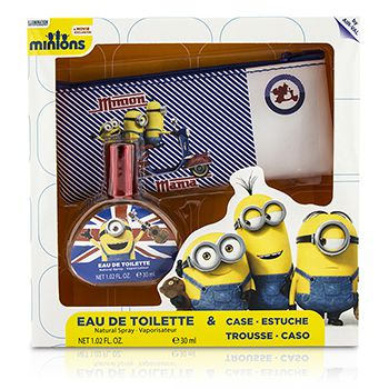 Air Val International Minions Coffret: Eau De Toilette Spray 30ml/1oz + Case