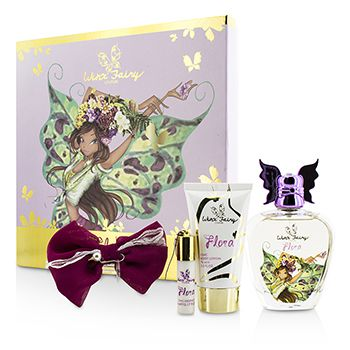Winx Fairy Couture Stella Chic Essence Coffret: Eau De Toilette Spray 100ml/3.4oz + Body Lotion 75ml/2.55oz + Rollerball 5ml/0.17oz + Hair Clip