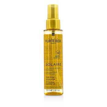 Rene Furterer Solaire Waterproof KPF 90 Protective Summer Oil - Shiny Effect (High Protection For Hair Exposed To The Sun)
