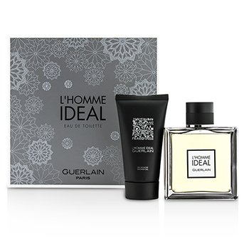 Guerlain LHomme Ideal Coffret: Eau De Toilette Spray 100ml/3.3oz + Shower Gel 75ml/2.5oz