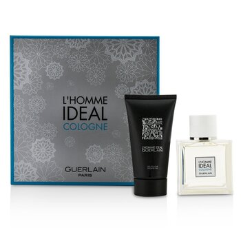 Guerlain L'Homme Ideal Cologne Coffret: Eau De Toilette Spray 50ml/1.6oz + Shower Gel 75ml/2.5oz