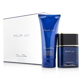 Oscar De La Renta Pour Lui Coffret: Eau De Toilette Spray 90ml/3oz + Hair & Body Wash 200ml/6.7oz