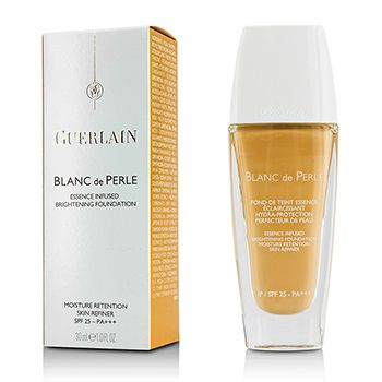 Guerlain Blanc De Perle Essence Infused Brightening Foundation SPF 25 - # 32 Ambre Clair