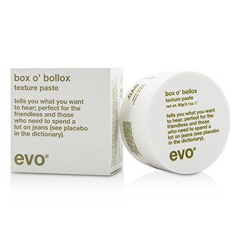 Evo Box O Bollox Texture Paste (For All Hair Types, Especially Short, Textured Haircuts)