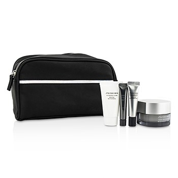 Shiseido Men Set: Men Total Revitalizer 50ml + Men Total Revitalizer Eye 5ml + Men Cleansing Foam 30ml + Men Concentrate 7ml + Bag
