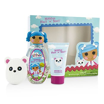 Lalaloopsy Mittens Fluff 'N' Stuff Cute Coffret: Eau De Toilette Spray 100ml/3.4oz + Shower Gel 75ml/2.5oz + French Barrette