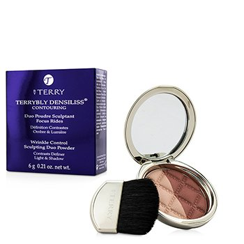 By Terry Terrybly Densiliss Blush Contouring Duo Powder - # 400 Rosy Shape