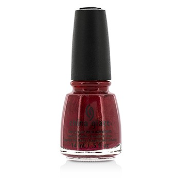 China Glaze Nail Lacquer - Go Crazy Red (003)