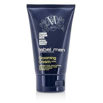 Label.M Men's Grooming Cream (Lightweight Cream, Natural Definition and Control, Nourishes, Builds Thickness and Texture)
