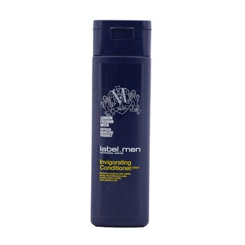 Label.M Men's Invigorating Conditioner (Restores Moisture and Vitality, Tones and Balances Scalp, Healthy Shiny Results)
