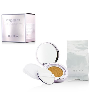 Hera UV Mist Cushion Mineral Clay Water & Smart Layer UV Complex SPF50 With Extra Refill - #N23