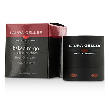 Laura Geller Baked To Go Blush N Brighten Baked Cheek Color - #Pink Grapefruit