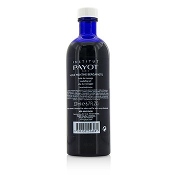 Payot Huile Menthe Bergamote Modelling Oil - Salon Product