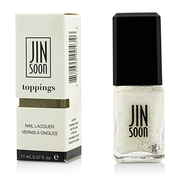 JINsoon Nail Lacquer (Toppings) - #Polka White