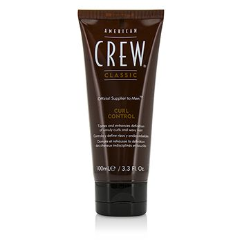 American Crew Men Curl Control (Tames and Enhances Definition of Unruly Curls and Wavy Hair)