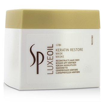 Wella SP Luxe Oil Keratin Restore Mask (Reconstructs Hair Fiber)