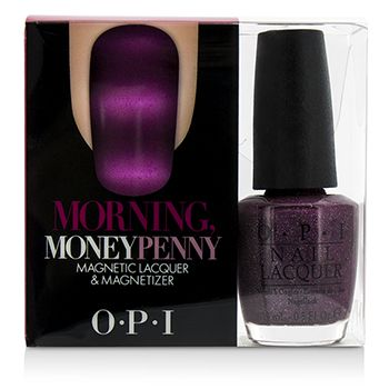 O.P.I Magnetic Lacquers & Magnetizers - #Morning, MoneyPenny