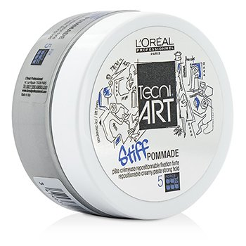 L'Oreal Professionnel Tecni.Art Stiff Pommade Repostionable Creamy Paste (Strong Hold - Force 5)