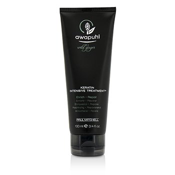Paul Mitchell Awapuhi Wild Ginger Keratin Intensive Treatment (For Dry and Damaged Hair)