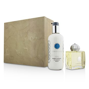 Amouage Ciel Coffret: Eau De Parfum Spray 100ml/3.4oz + Body Lotion 300ml/10oz